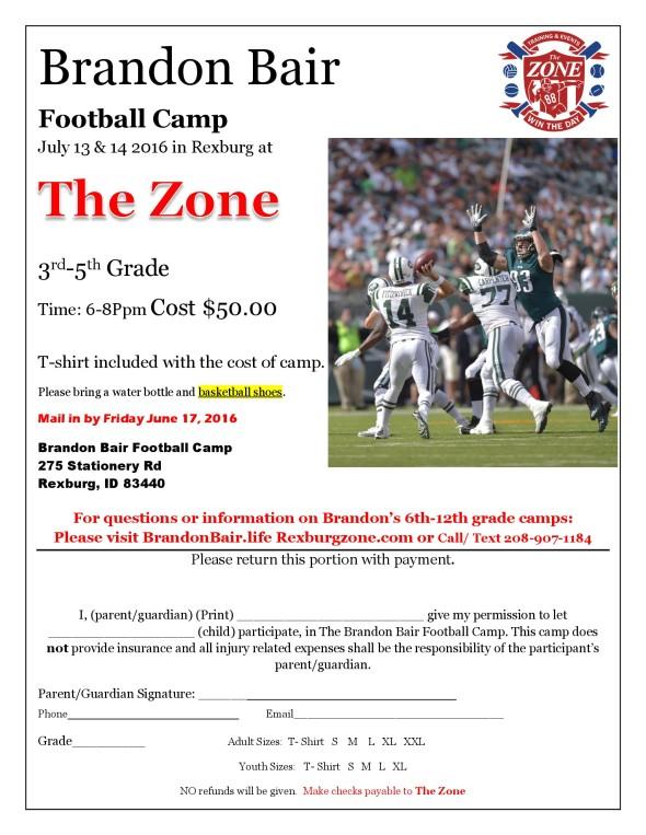 Zone Camp 2016